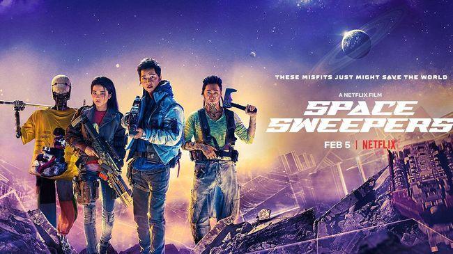 Review Film Baru Space Sweeper Film 2021
